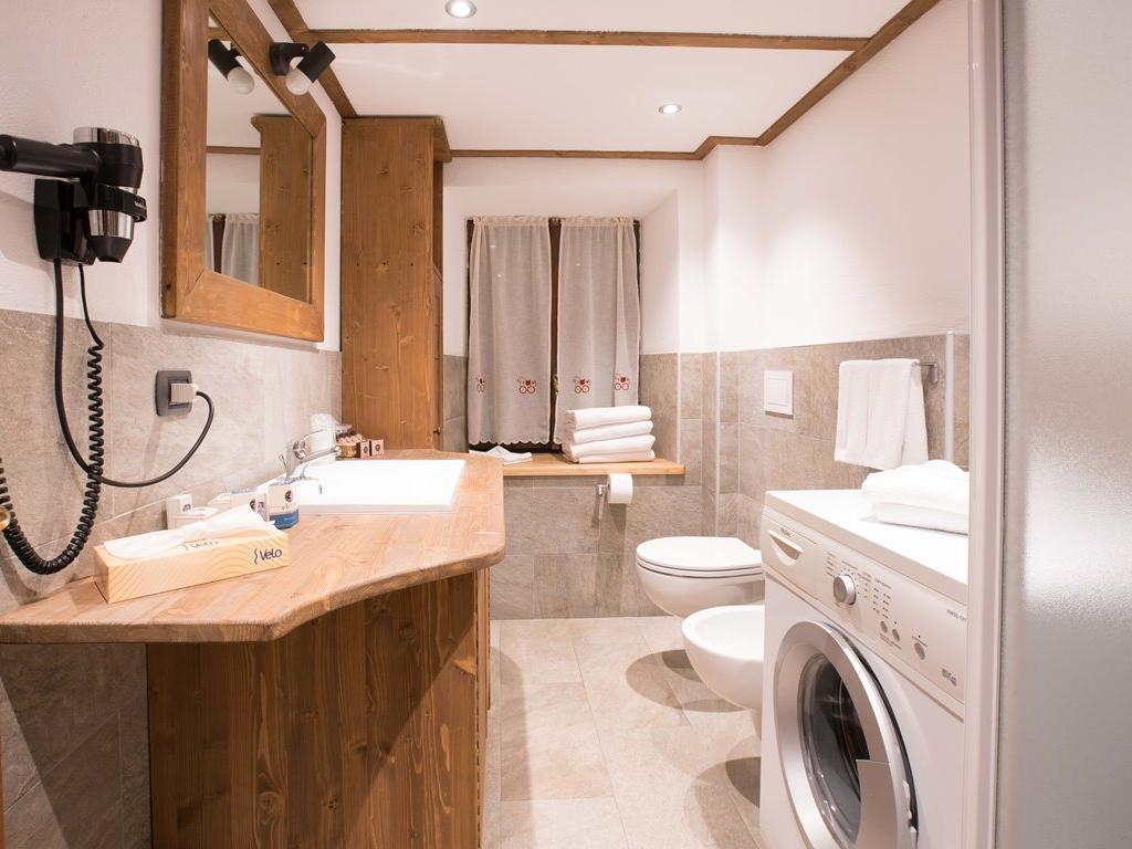 Apartment Genziana - Badezimmer