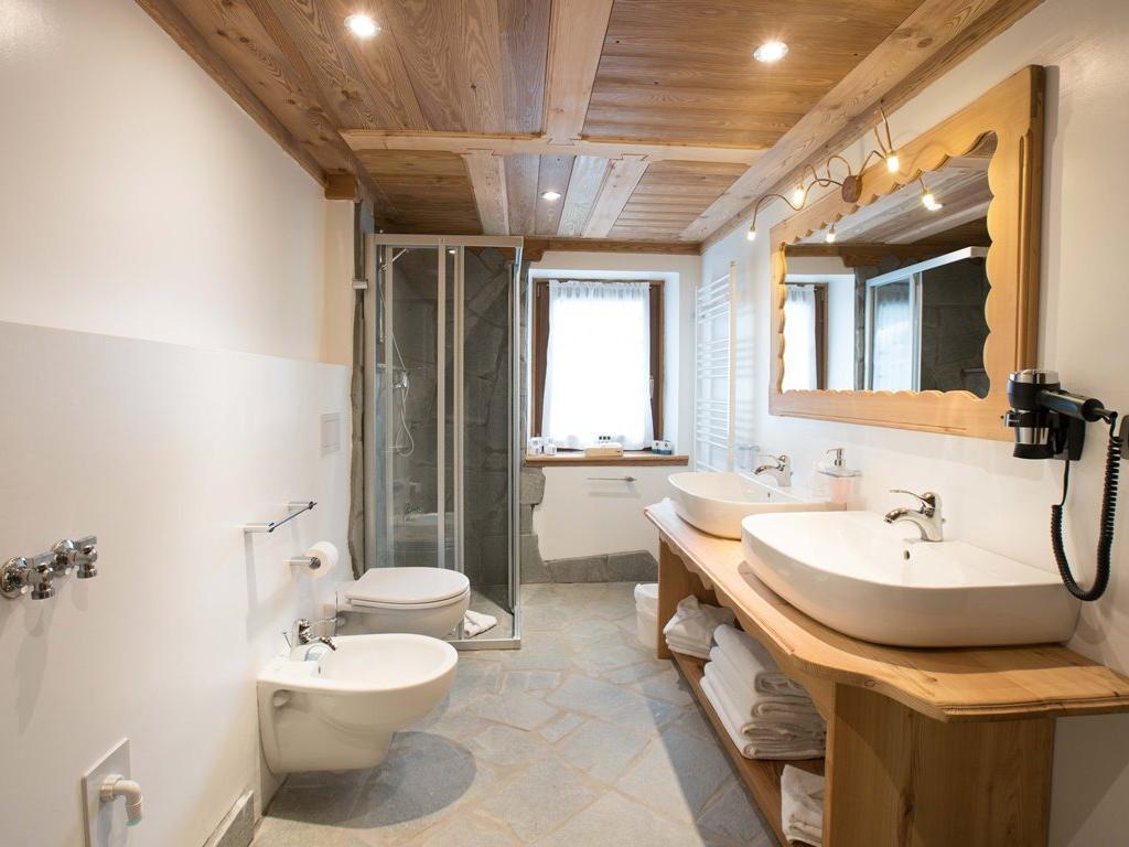 Apartment Rododendro - Badezimmer